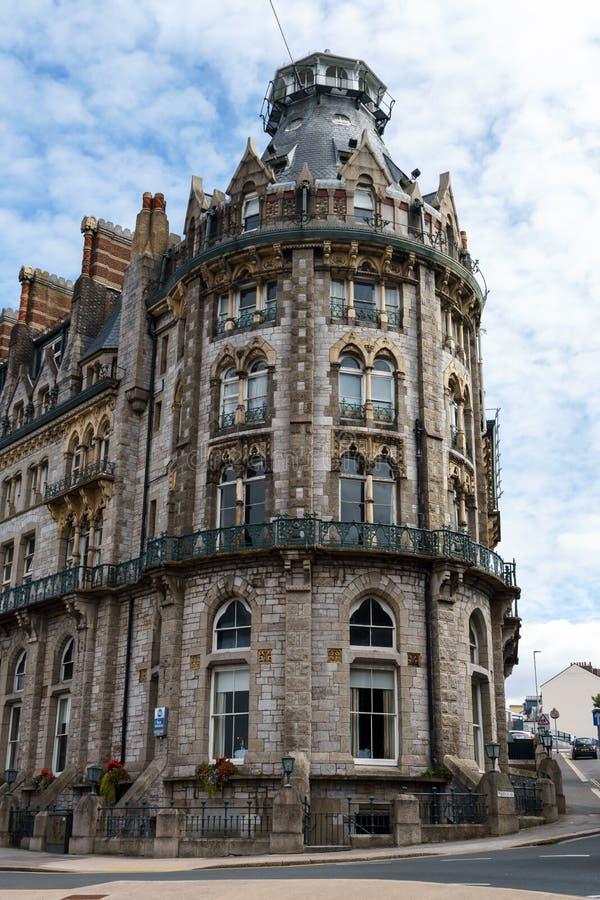 O duque do hotel de Cornualha, Plymouth, Devon, Reino Unido, o 20 de agosto de 2018 imagem de stock