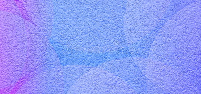 O eclipse abstrato colorido da cor dos azul-c?u refletiu o fundo textured seco ?spero ilustração royalty free