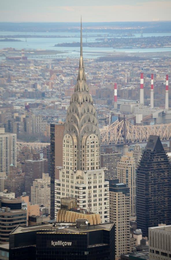O edifício de Chrysler fotos de stock royalty free