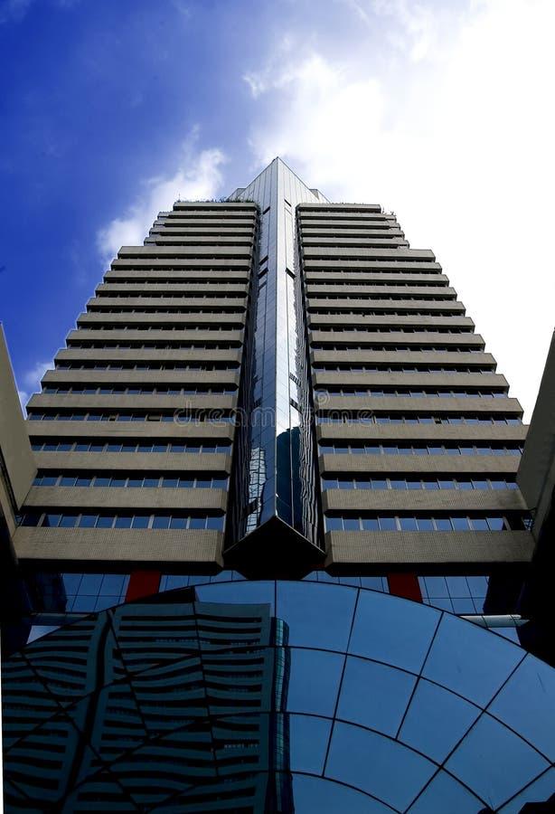 O edifício do banco foto de stock royalty free