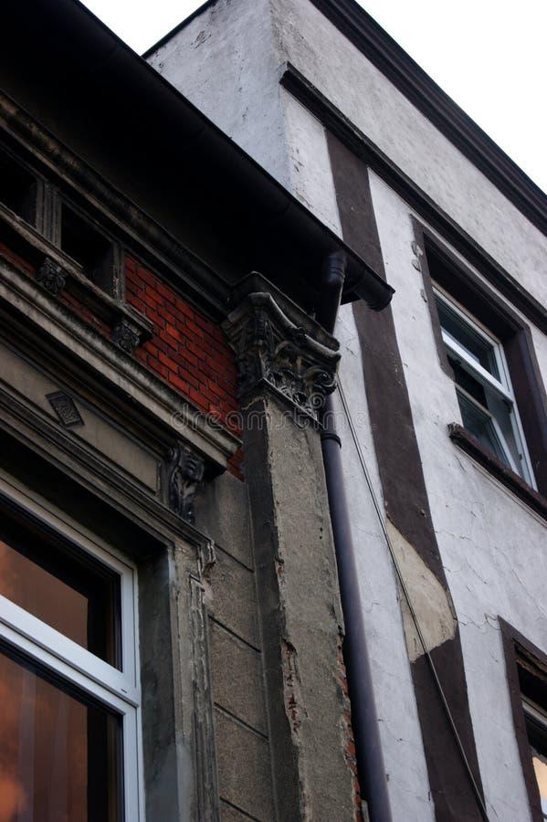 O edifício velho fotografia de stock royalty free
