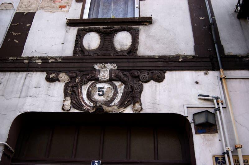 O edifício velho imagens de stock royalty free