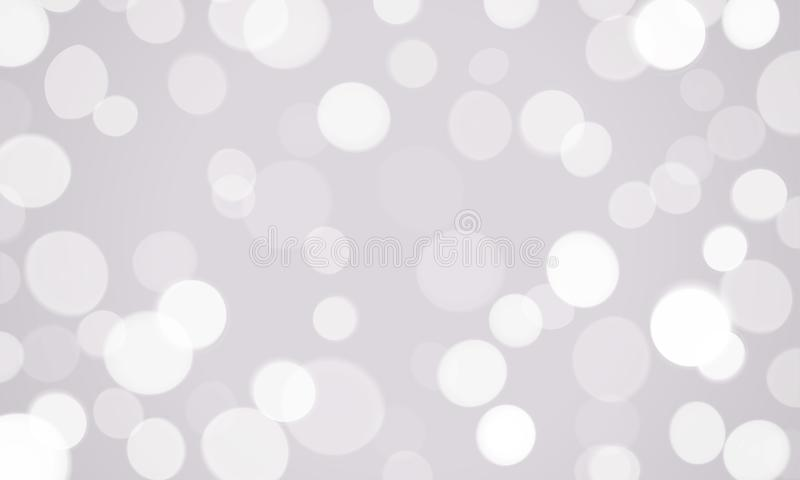 O efeito de brilho do fulgor da luz abstrata com brilho sparkles fundo Vector as luzes efervescentes brancas e o glitt da luz do  ilustração stock