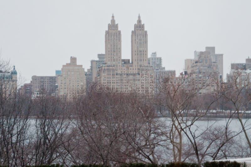 O eldorado e o Central Park New York City imagem de stock royalty free