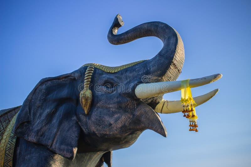 O elefante grande do corpo fotografia de stock royalty free