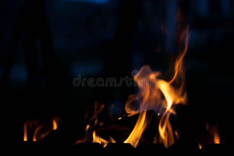 O elemento do fogo O conceito da natureza fotografia de stock royalty free