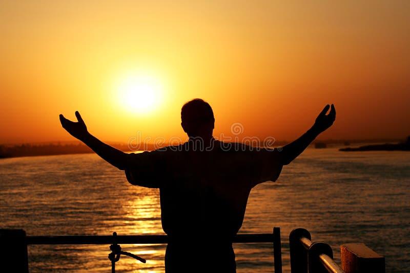 O elogio seja o Nile imagens de stock royalty free