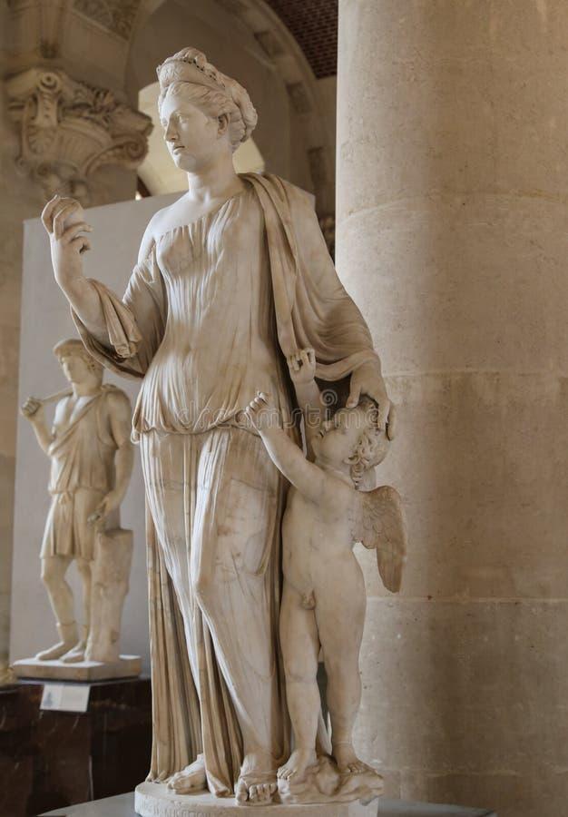 O emplastro no museu de le grelha, Paris, france imagem de stock