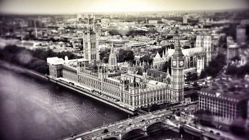 O encanto de Londres imagem de stock