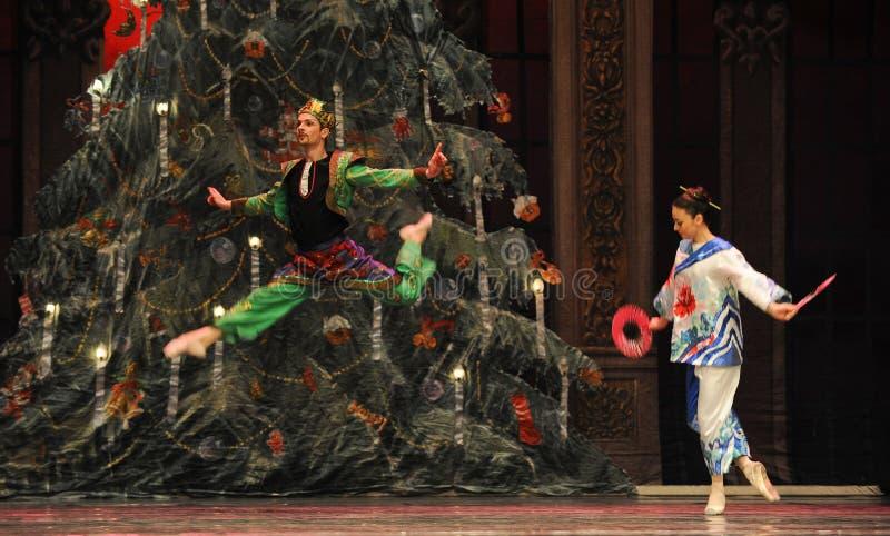 O enviado japonês o segundo do ato reino dos doces do campo em segundo - a quebra-nozes do bailado imagem de stock royalty free