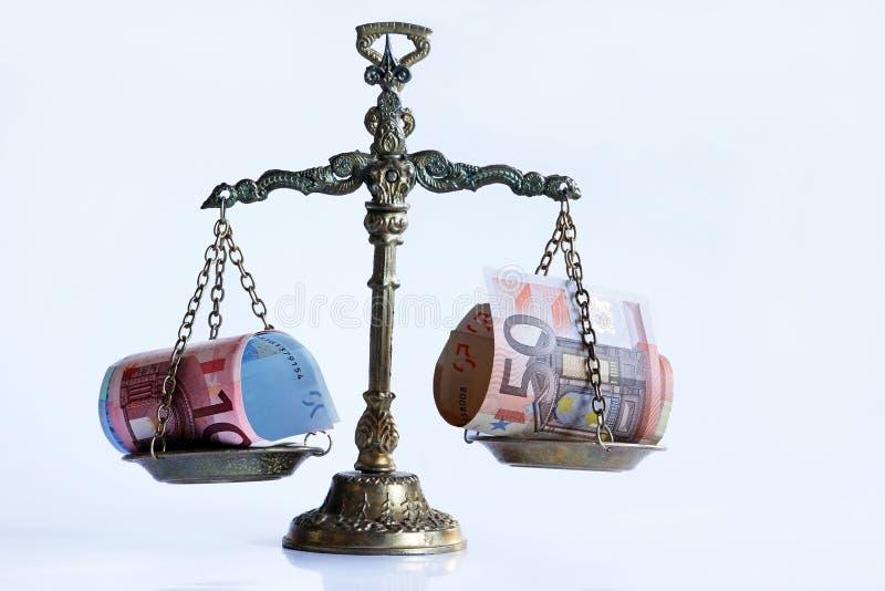O equilíbrio direito imagem de stock