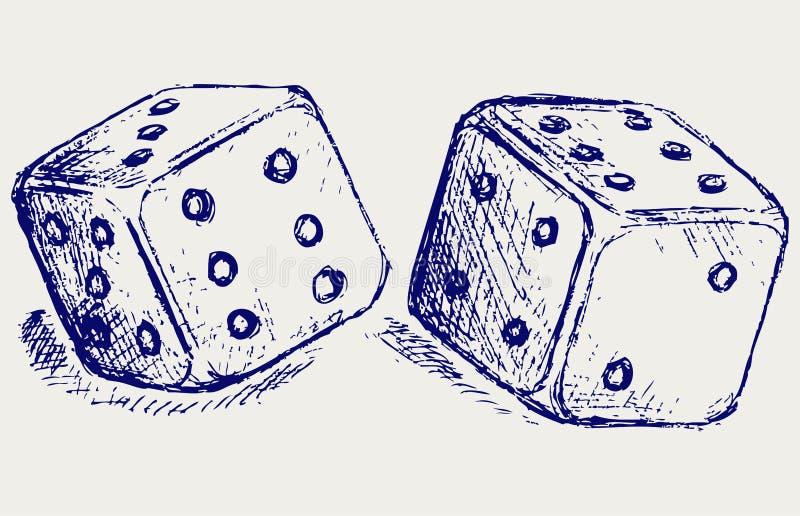 Download O esboço dois corta ilustração do vetor. Ilustração de ícone - 26513628