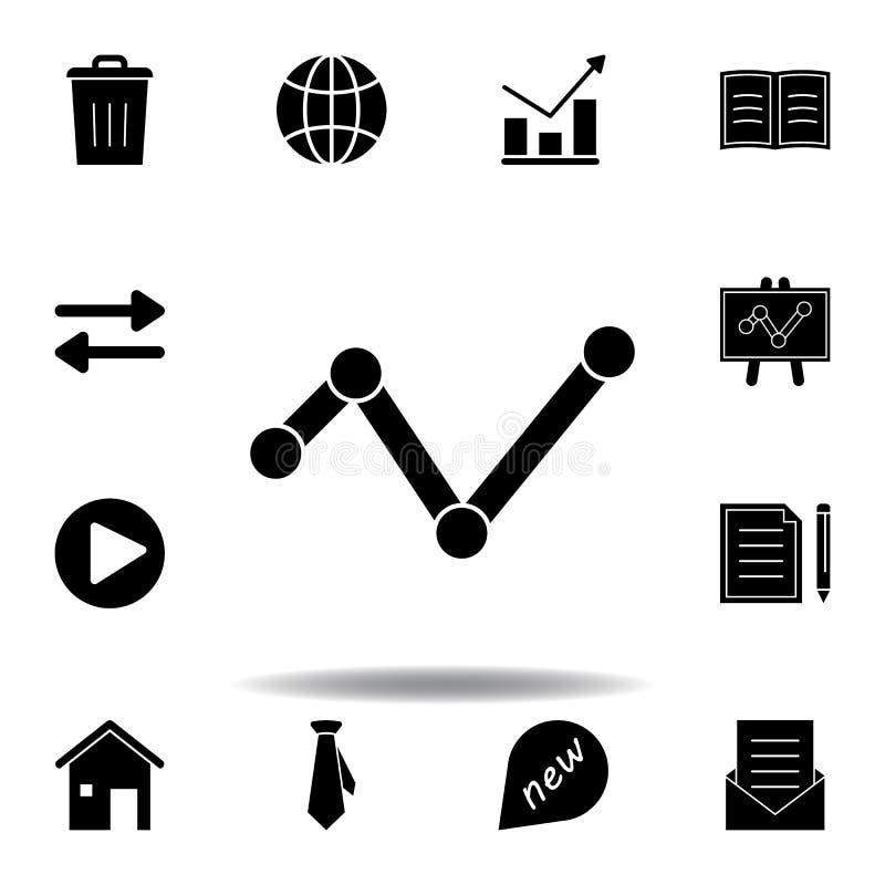 O escaninho, supress?o, remove o ?cone Os sinais e os s?mbolos podem ser usados para a Web, logotipo, app m?vel, UI, UX ilustração do vetor