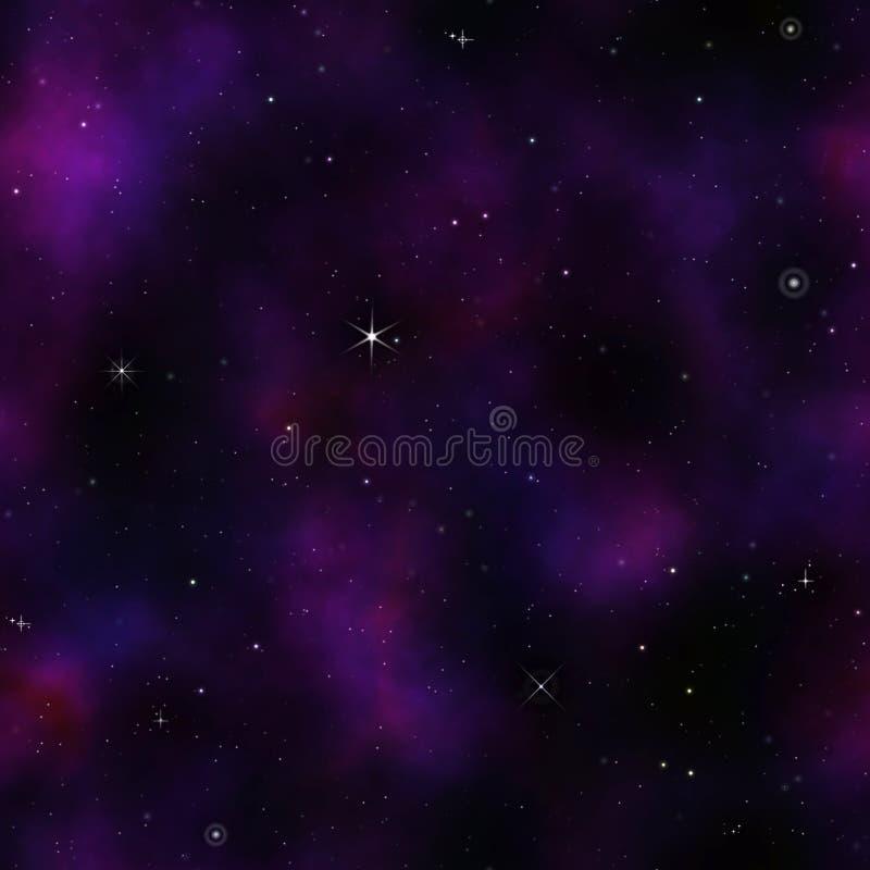 o espaço profundo stars o fundo ilustração stock