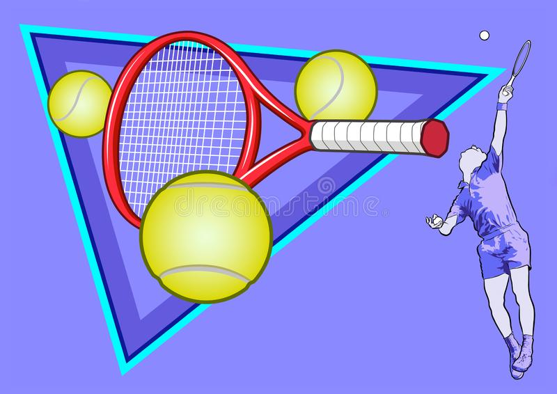 O esporte do tênis foto de stock royalty free