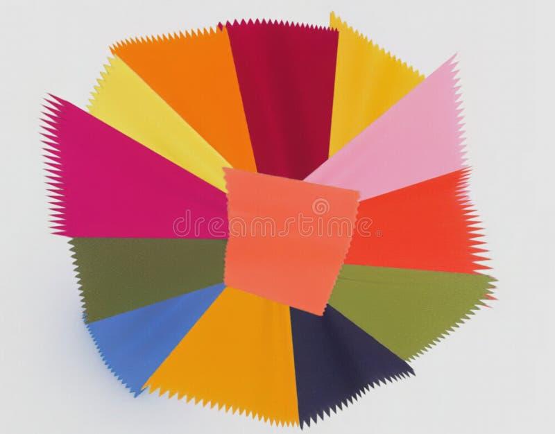 O esquema de cores de 2019 imagens de stock royalty free