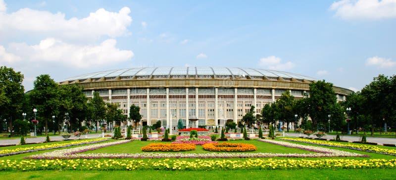 O estádio de Luzhniki em Moscou fotografia de stock royalty free
