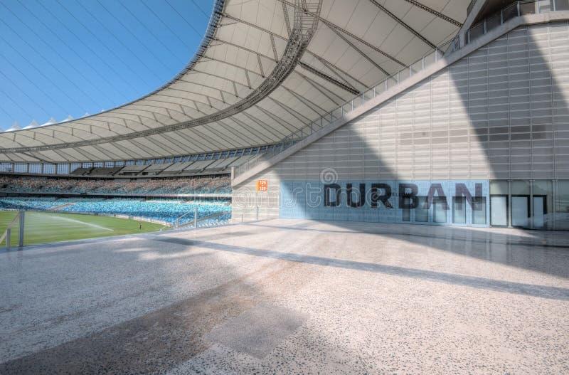 O estádio do futebol de Durban Moses Mabhida imagem de stock royalty free