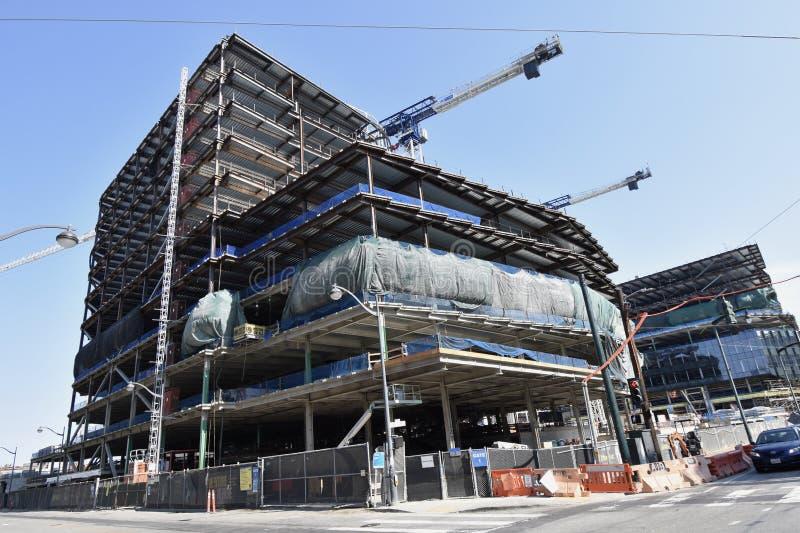 O estádio novo de continuação dos guerreiros do Golden State sob a construção, 19 imagem de stock royalty free