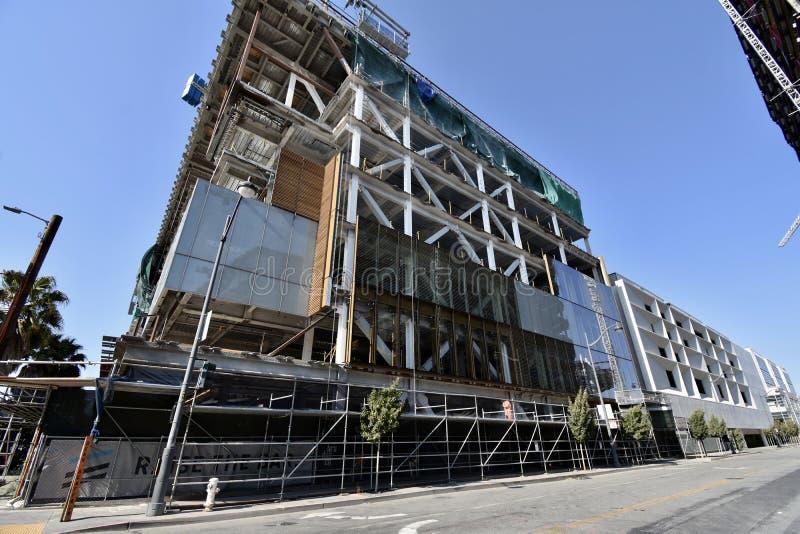 O estádio novo de continuação dos guerreiros do Golden State sob a construção, 1 fotos de stock