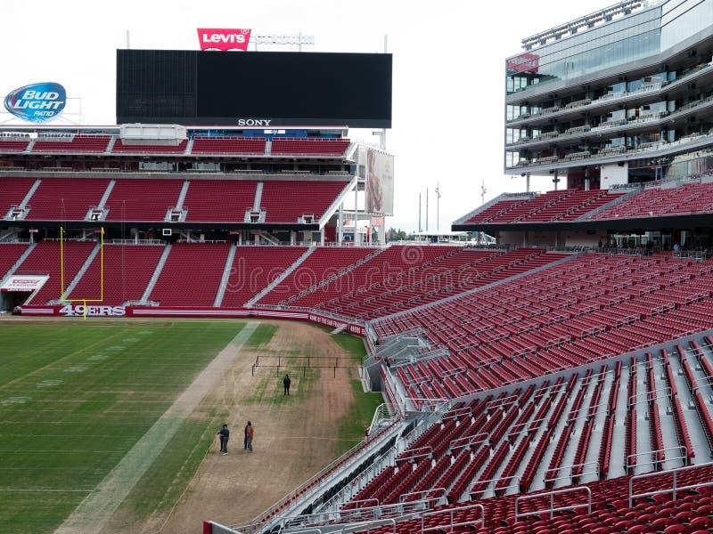 O estádio novo Santa Clara California de Levi's foto de stock royalty free
