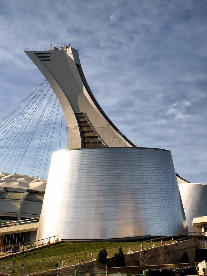 O Estádio Olímpico e o Planatorium imagens de stock royalty free