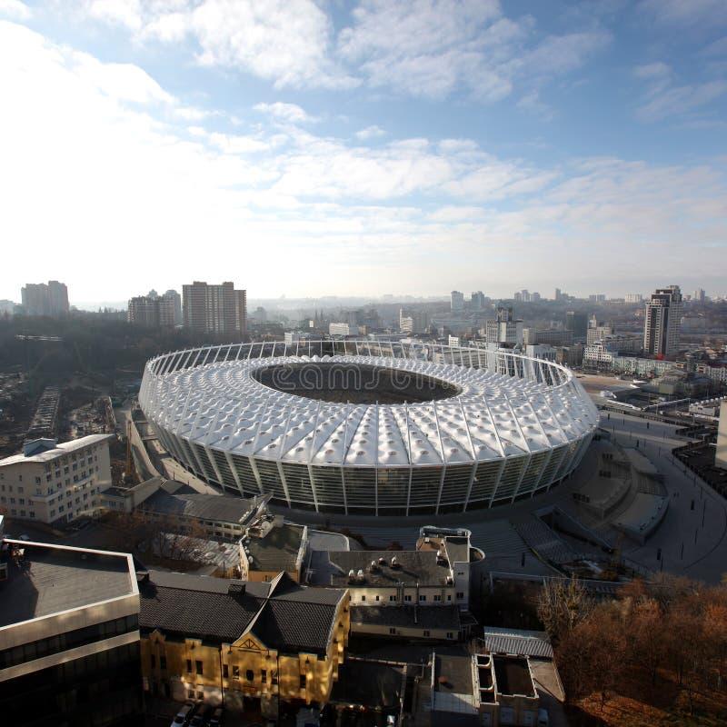 Download O Estádio Olímpico Sob A Construção Foto de Stock Editorial - Imagem de construir, cidade: 29836258