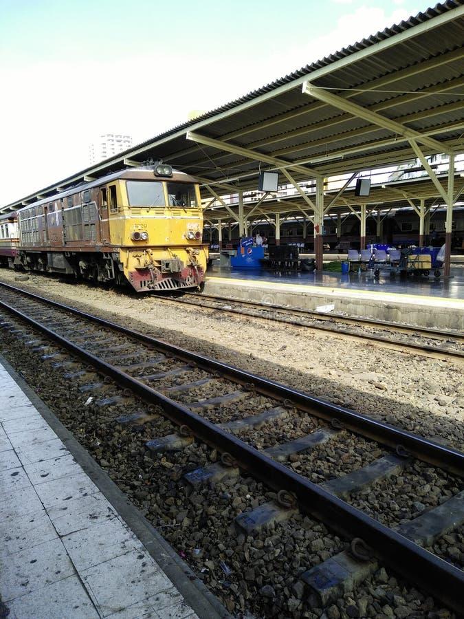 O estação de caminhos-de-ferro de Banguecoque imagem de stock
