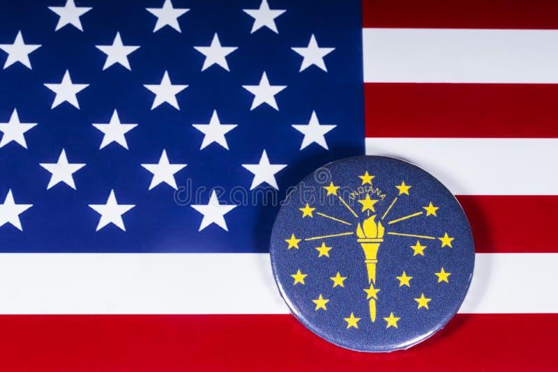 O estado de Indiana nos EUA fotos de stock