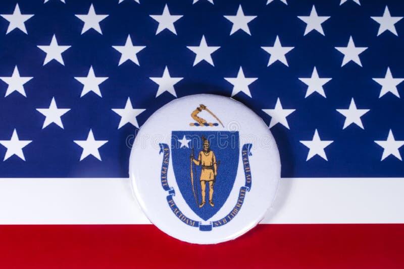 O estado de Massachusetts nos EUA fotografia de stock royalty free