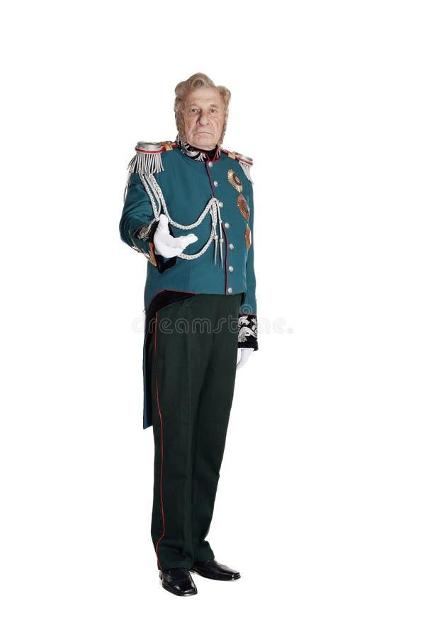 O estado maior geral do general do exército imagens de stock