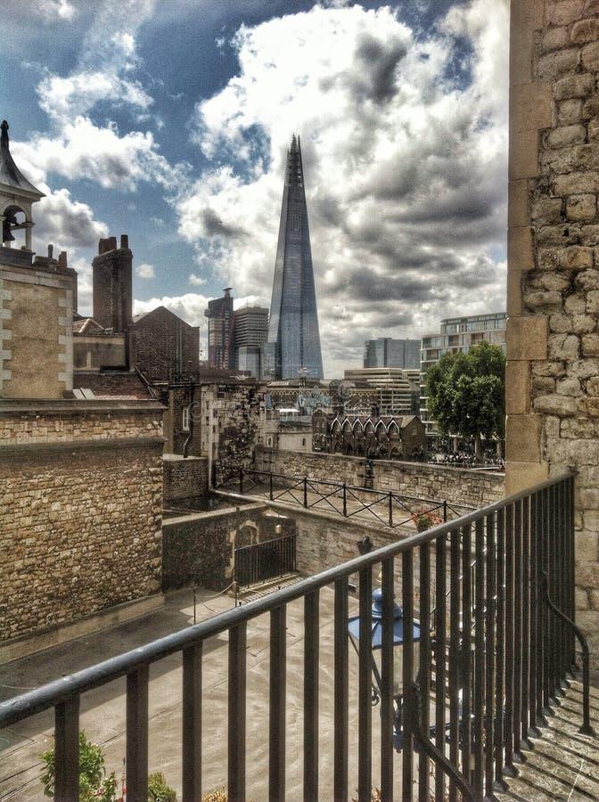 O estilhaço da torre de Londres imagem de stock royalty free