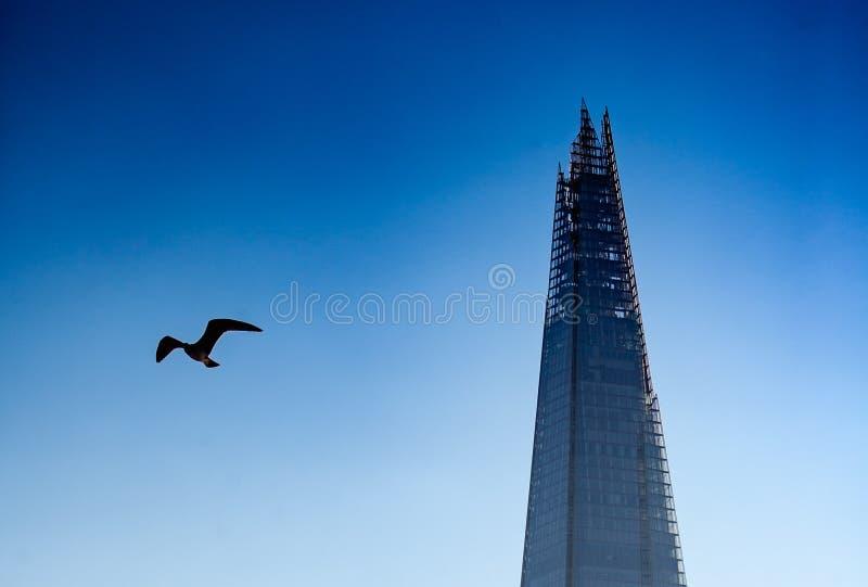 O estilhaço - Londres imagem de stock royalty free