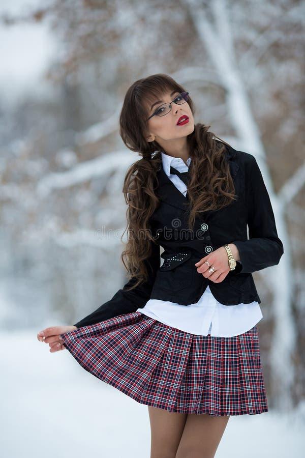 O estudante bonito, professor, estudante imagens de stock royalty free