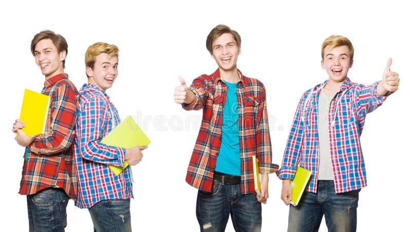 O estudante novo fotografia de stock royalty free