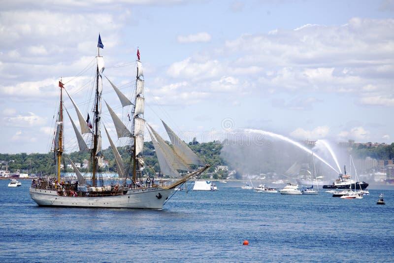 O Europa - festival alto 2009 dos navios de Nova Escócia imagem de stock royalty free