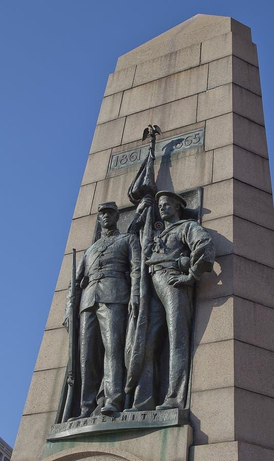 Exército grande da estátua da república (PEIXE-AGULHA), Washington, C.C. fotos de stock