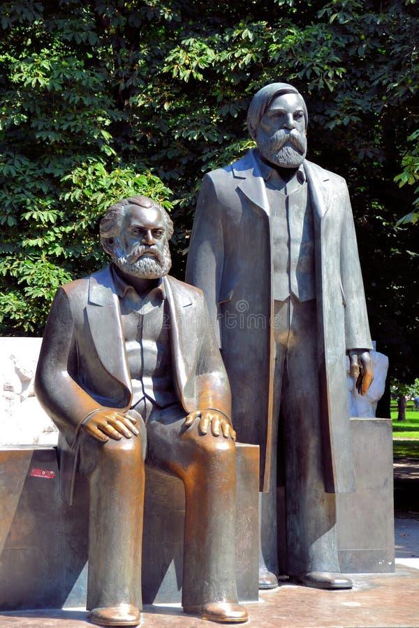 O fórum de Marx-Engels foto de stock