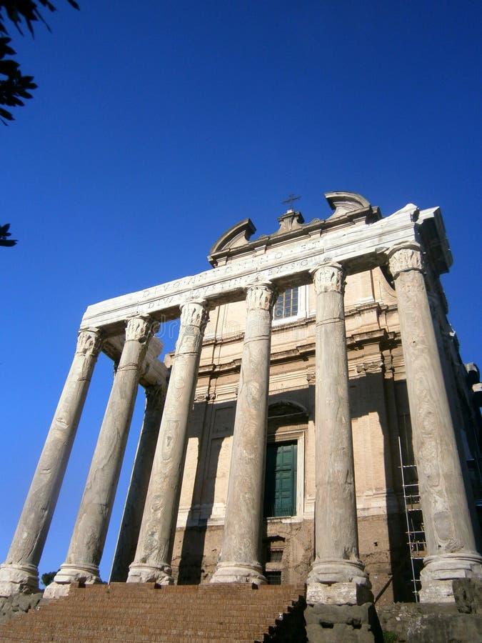 O fórum de Roma imagens de stock royalty free