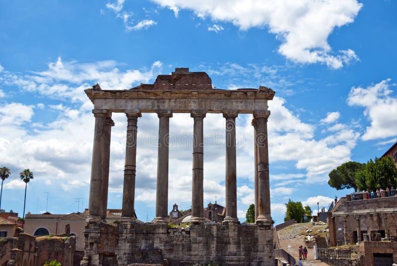 O fórum - Roma foto de stock royalty free