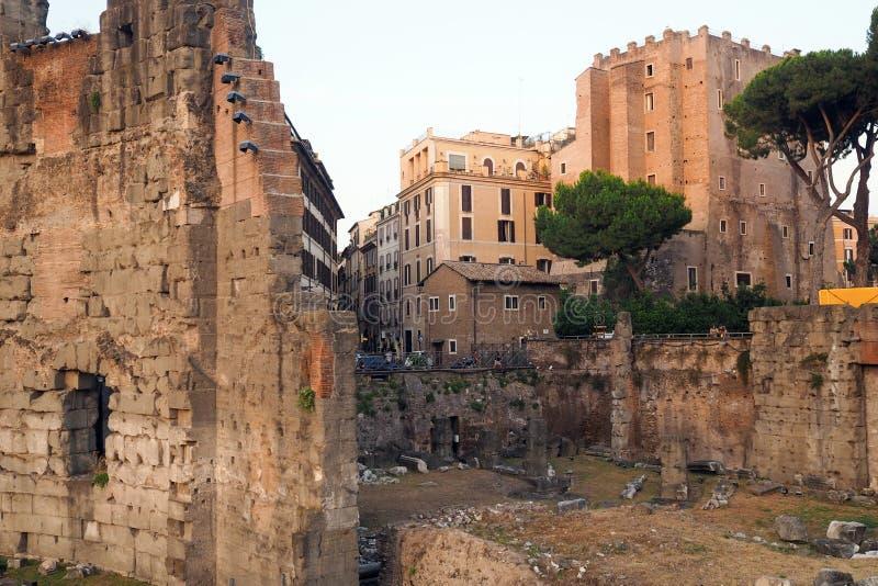 O f?rum de Augustus em Roma, It?lia imagem de stock
