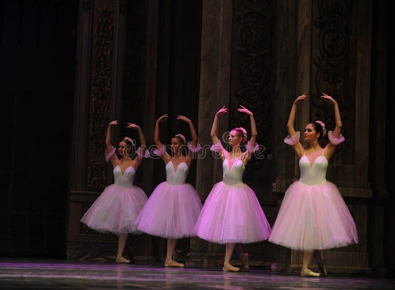 O fairy- do floco de neve o segundo do ato reino dos doces do campo em segundo - a quebra-nozes do bailado foto de stock royalty free