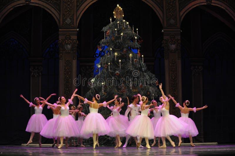 O fairy- do floco de neve o segundo do ato reino dos doces do campo em segundo - a quebra-nozes do bailado fotos de stock