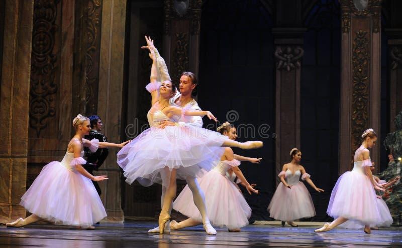 O fairy- do floco de neve o segundo do ato reino dos doces do campo em segundo - a quebra-nozes do bailado imagem de stock royalty free