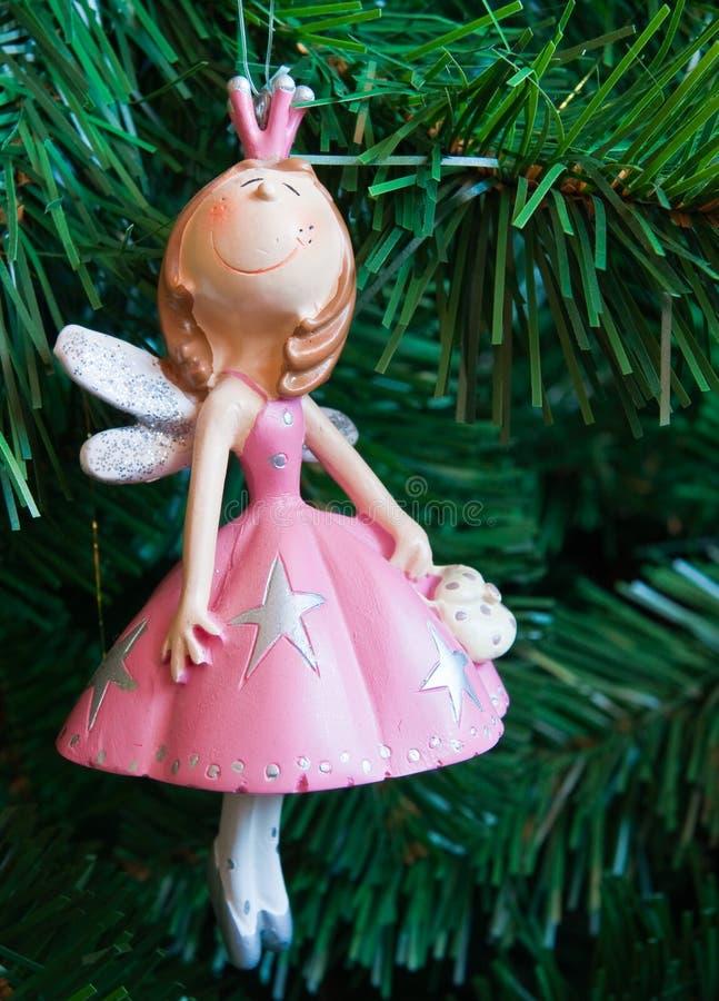 O fairy em um vestido cor-de-rosa imagem de stock royalty free