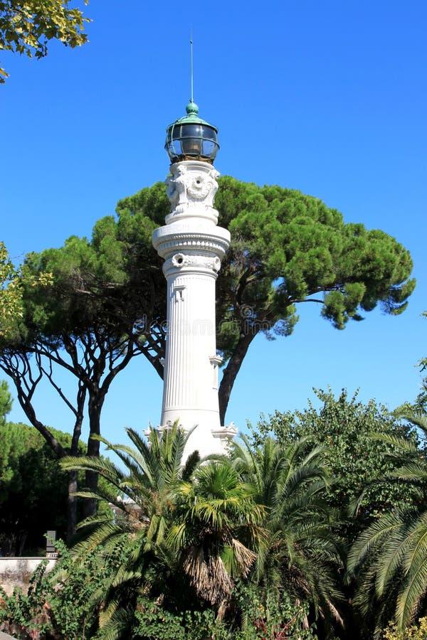 Download Farol Em Cima Dos Montes De Janiculum, Roma De Manfredi Imagem de Stock - Imagem de lâmpada, roman: 29840917