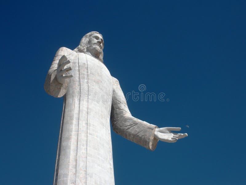 O fasade moderno da arquitetura sob Jesus relacionou-se ao presidente esquerdista do partido em relação à luta da libertação da A foto de stock