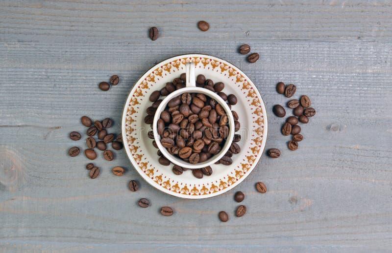 O feijão de café foto de stock royalty free