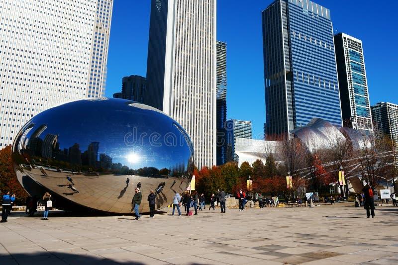O feijão de Chicago, EUA fotos de stock