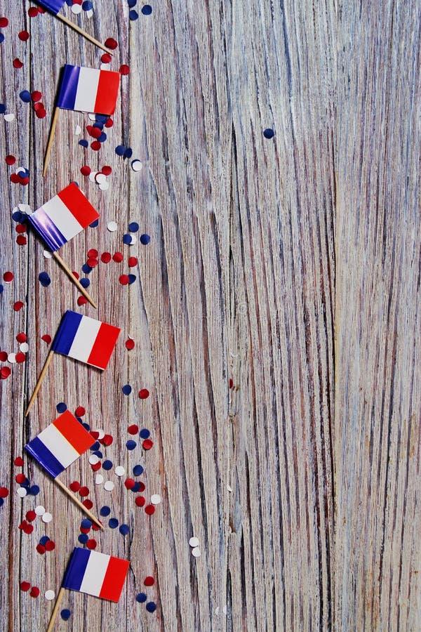 O feriado nacional do 14 de julho ? um Dia da Independ?ncia feliz de Fran?a, dia de Bastille, o conceito do patriotismo, mem?ria, fotos de stock royalty free